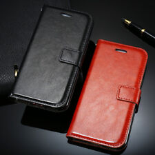 PU Leather Flip Holster Wallet Kickstand Case Phone Cover For iPhone X 8 7 6