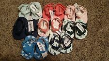 NWT Baby Boy's Flip Flop Sandals - Old Navy - Multiple Sizes & Colors