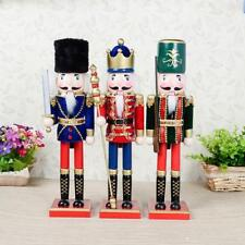 15'' Handpainted Wooden Nutcracker King Solider Holiday Home Decoration Ornament