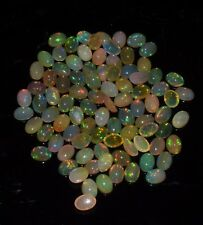 Ethiopian Opal Welo Fire Extreme Fine Oval Cabochon Opal Gemstone