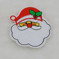 Cute Santa Claus Embroidered Cloth Iron On Patch Sew Motif Applique badge