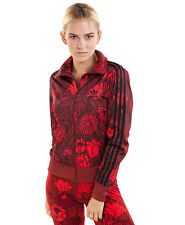 Adidas Originals W Firebird Floral Red Track Jacket Size UK 6, 14 New (659)