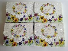 CAROL WILSON LETTERS OF NOTE CARDS  I,  X, Y, U  Choose 1 of 4 Choices
