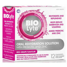 Biolyte Oral Rehydration Solution 12 x 6.2g Sachets - Red Grape Flavour