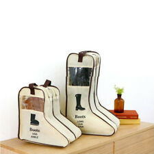 Portable Dust-proof Boot Shoes Bag Organizer Storage Protector Container Sweet
