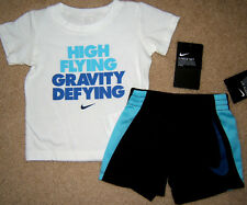 NIKE Shorts and T Shirt 2 pc Set Baby Boys 12M 18M 12 18 Month NWT