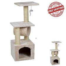 Cat Tree Multi Level Tower Condo House Scratching Post Pet Kitty Play Furniture