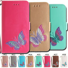 Wallet Card Slot Butterfly Flip Stand Case PU Leather Cover For Apple iPhone 6S