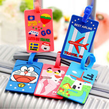 6 pcs Luggage Tag Travel Suitcase Bag Id Tags Address Label Baggage Card Holder