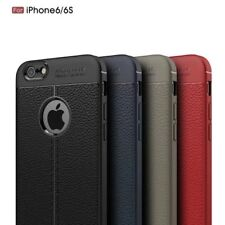 Shockproof Luxury Hybrid Soft TPU Leather Full Cover Case For Apple iPhone 6 6S
