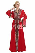 EXCLUSIVE ARRIVAL Long Floor Touch MOROCCAN KAFTAN DESIGN FOR WOMEN DRESS 5874