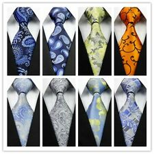 Blue White Green Gold Purple Gray Floral New Classic Silk Men's Tie Necktie Hot