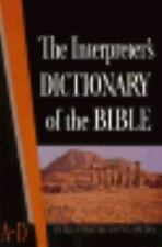 Interpreter's Dictionary of the Bible