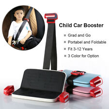 Mini Portable and Foldable Child Safety Car Seat,Car Booster Seat,Fit 3-12 Years