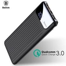 Quick Charge 3.0 Power Bank 10000mAh Dual USB Battery Charger For Mobile Phones