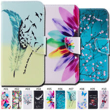 Protective PU Leather Card Slot Wallet Flip Stand Painted Case Cover  For Xiaomi
