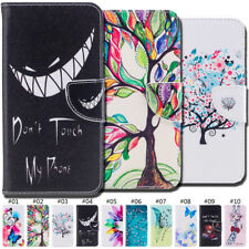 Painted PU Leather Holder Wallet Card Slot Case Cover For Xiaomi Redmi Note 4/4X