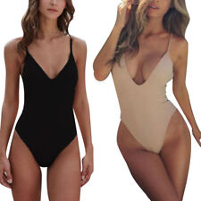Women Sexy Bodycon Swimsuit Bandeau Strapless Bandage Jumpsuits Rompers Pop