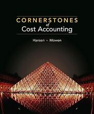 Cornerstones of Cost Accounting-ExLibrary