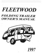 New Coleman Fleetwood Popup Camper Owners Value Package #2