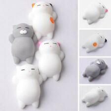 2018 cute animal toys antistress toy mini squeeze cat soft doll relax toys kids