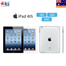 New Sealed Apple iPad 4th16/32/64GB (Wifi Only) Retina PC Tablet 1Year Warranty