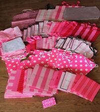 Victoria's Secret & Pink LOT of 75!!!  Gift BAGS and BOXES & TISSUE Shopping