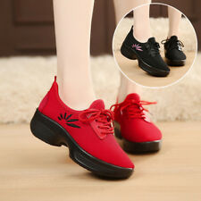Women Sneakers Fashion Mesh Shoes Casual Soft Hip Flats Running Athletic Sports
