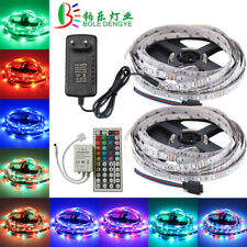 5m 10m RGB LED Strip 60 leds/m SMD 2835 Waterproof Rope String Lamp + Controller