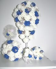 BRIDAL BOUQUET*BRIDESMAIDS POSIES*FAIRY WAND*CORSAGE*QUALITY HAND MADE