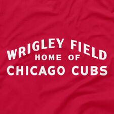 Wrigley Field Marquee Shirt Home of Chicago Cubs Sign Red S M L XL 2XL 3XL Tank