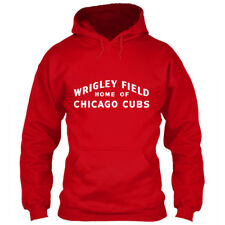 Wrigley Field Marquee Hoodie Chicago Cubs Sign Red Size S M L XL 2XL 3XL 4XL 5XL