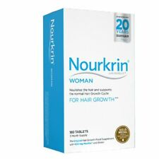 Nourkrin Woman 180 Tablets - 3 Months Supply | Hair Growth 1 2 3 6 12 Packs