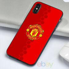 NEW!Manchester United Phone Case iPhone 8/7 Plus X 6s 5s Samsung S9+ S8 S7 Cases