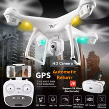 2.4GHz GPS FPV Drone Quadcopter with 1080P HD Camera LED Wifi Headless Mode