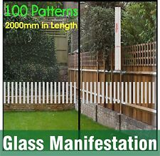 Safety Stickers Glass Manifestation Etch Effect Frosted Film Front Shop