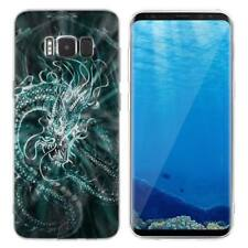 Case Cover For Samsung Galaxy S6 S7 Edge S8 S9 Plus Reptiles Dinosaurs Animals