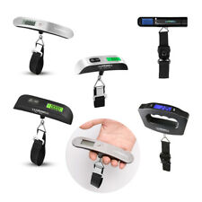 Travel 110lbs lb / kg /oz / g Digital LCD Luggage Scale Hook Electric Scale