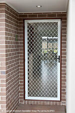 Custom Security Screen Doors - Sliding or Hinged, Any Colour, Made to Measure