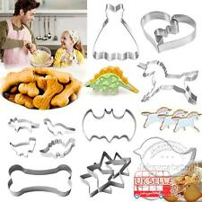 Stainless Steel Biscuit Cookie Mold Pastry Fondant Mould Cutter Cake Decorating