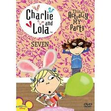 Charlie and Lola, Vol. 7: This Is Actually My Party DVD Region 1 PERFECT CONDITI