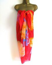 UK New Sarong Beach Wrap Cover Up Pareo. *Fast Delivery*
