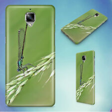 DAMSELFLY GRASS INSECT MACRO HARD BACK CASE FOR ONEPLUS PHONES