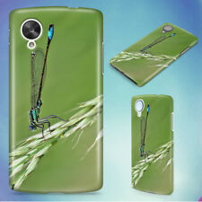 DAMSELFLY GRASS INSECT MACRO HARD BACK CASE COVER FOR NEXUS PHONES