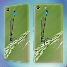 DAMSELFLY GRASS INSECT MACRO HARD BACK CASE FOR SONY XPERIA PHONES