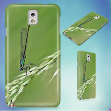 DAMSELFLY GRASS INSECT MACRO HARD CASE FOR SAMSUNG GALAXY PHONES