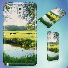 LANDSCAPE WATER MEADOW GREEN HARD CASE FOR SAMSUNG GALAXY PHONES