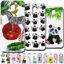 Cute Soft Clear Rubber TPU Silicone Case Cover Back Skin For Samsung Smart phone