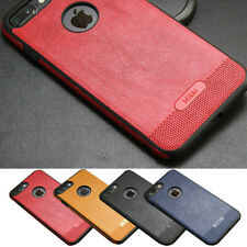 Luxury PU Leather Ultra Thin Shockproof Case Cover For Apple iPhone 6S 7 8 Plus