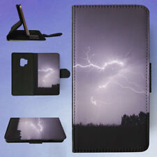 NIGHT STORM LIGHTNING FIREBIRD FLIP CASE COVER FOR SAMSUNG GALAXY PHONE